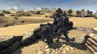 В тылу врага 2: Событие - наступление Американских войск на позиции России