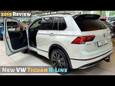 New VW Tiguan R-Line 2019 Review Interior Exterior