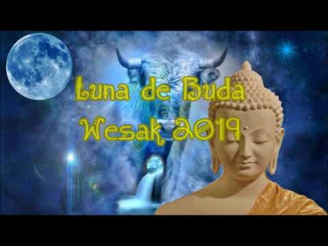 ╰☆╮Wesak Luna Llena Iluminación De Buda Y Amor Crístico. 2019╰☆╮