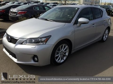 Pre Owned Silver On Black 2011 Lexus Ct 200h Hybrid Technology