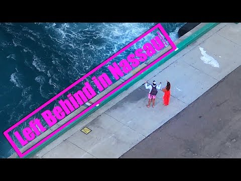 Terry J - Couple Helplessly Watching Their Cruise Ship Leave Without Them
