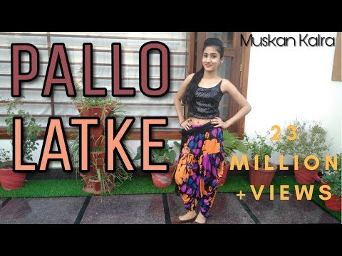 PALLO LATKE | Shaadi Mein Zaroor Aana| Rajkumar Rao, Kriti Kharbanda| Dance Cover By Muskan Kalra