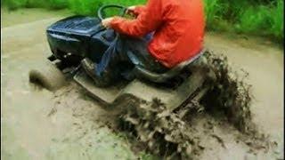 Riding Lawn Mower Mudding (Greatest Hits)