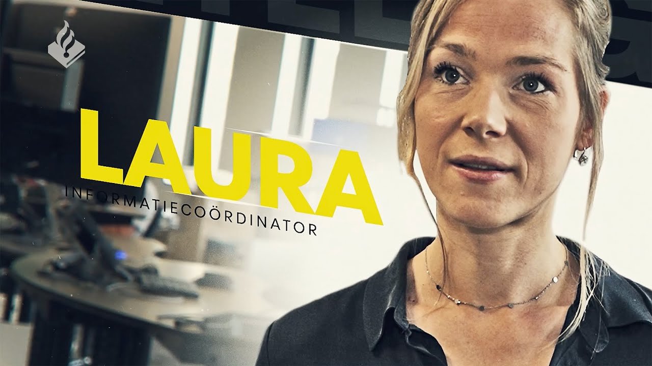 #politieportret - Informatiecoördinator Laura