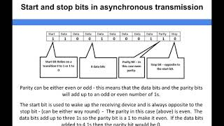 Networking - Start and stop bits in asynchronous transmission