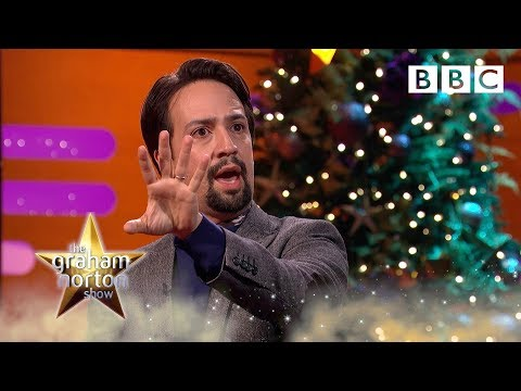 Lin-Manuel Miranda performs 'My Shot' from Hamilton - BBC