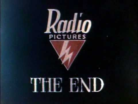 Radio Pictures technicolor end logo 1929