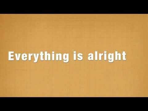 Motion City Soundtrack - Everything is Alright - Lyrics