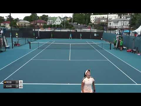 Robson Laura v Khromacheva Irina - 2018 ITF Launceston