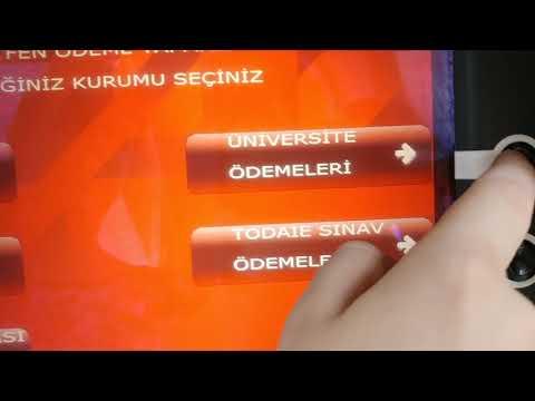 2017-2018 Açıköğretim ATM Harç...