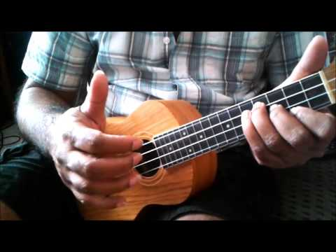 3 different Ukulele Groovy / Carribean / Soca / Parang strums