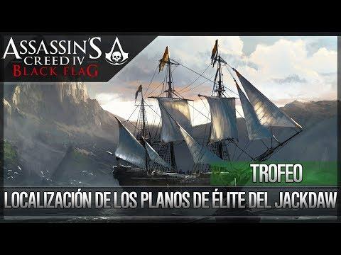 Assassin's Creed 4 Black Flag | Guía Trofeo | Localización Todos los Planos de Mejora Élite Jackdaw
