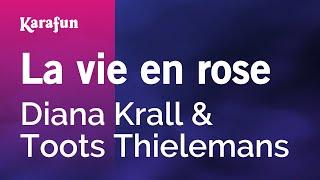 Karaoke La vie en rose - Diana Krall *