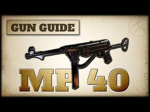 MP 40 Stats & Best Class Setups   CoD WW2 Gun Guide #3
