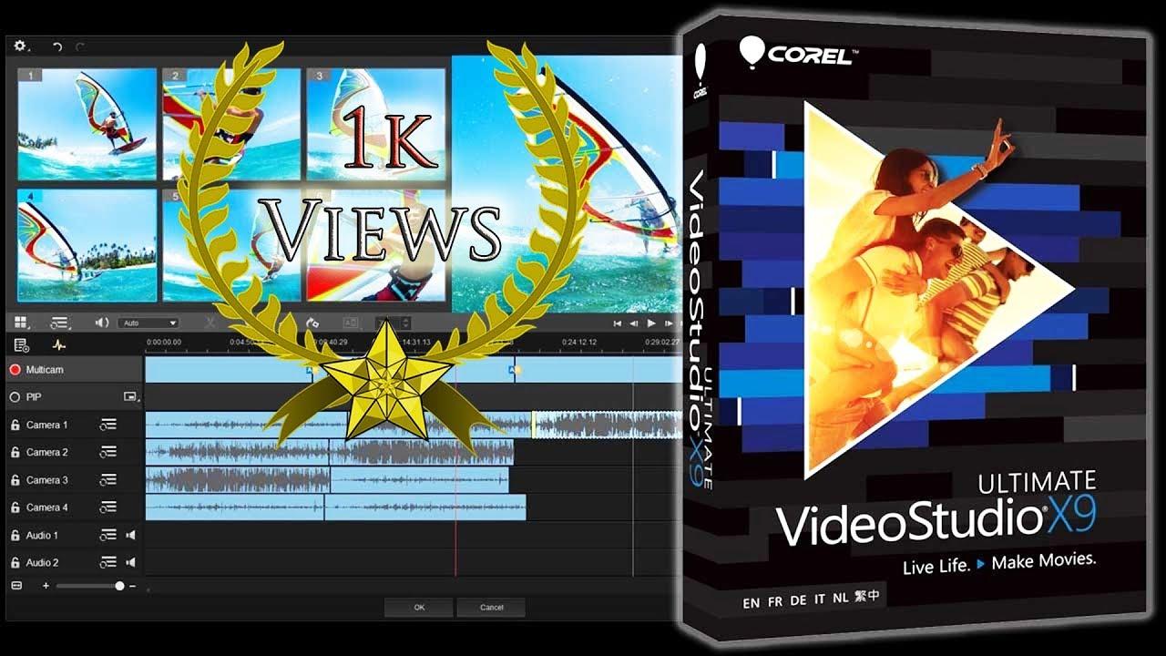 Corel Videostudio x9 Tutorial | Photo Editing Review | Photo