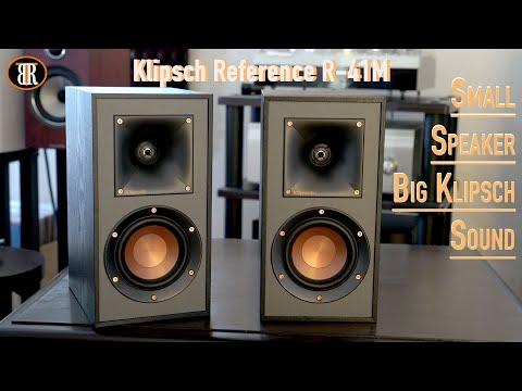 klipsch-r-41m-review,-small-speaker,-big-sound!