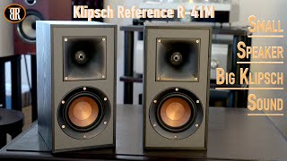 Klipsch R-41M Review, Small Speaker, Big Sound!