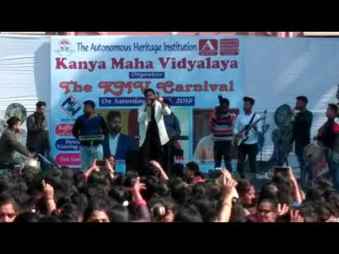 Manna mand live performance at kmv Jalandhar | KMV carnival 2018