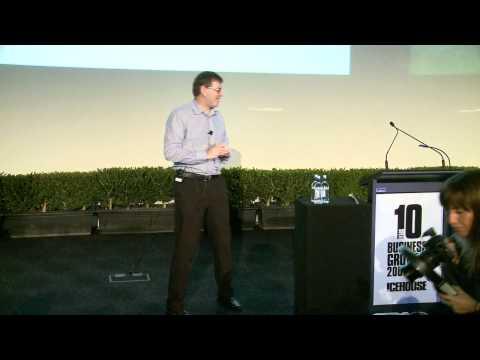 Andrew Coy Magritek - Blake Medallist - ICE Ideas Conference 2011