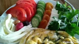 Diyet yapmak isteyenler için ideal kahvaltı tabağı