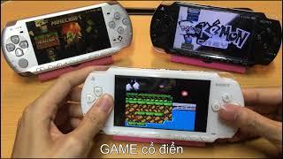 Máy chơi game PSP có những gì