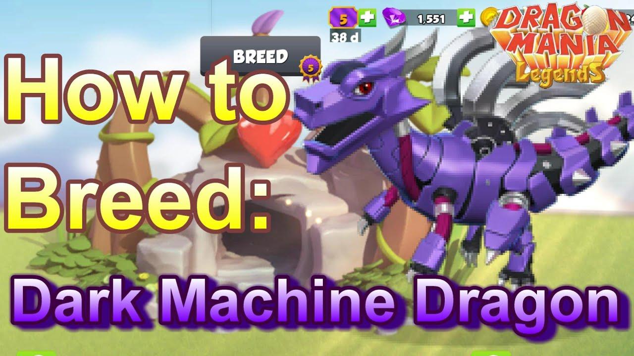 How to Breed: Legendary DARK MACHINE Dragon - Dragon Mania ...