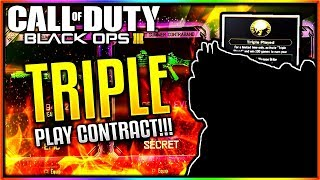 """BO4 TRIPLE PLAYED CONTRACT UNLOCKED BLACK OPS 3 """"FREE DLC WEAPONS""""! (BO3 NEW DLC WEAPON) #SoaRRC"""