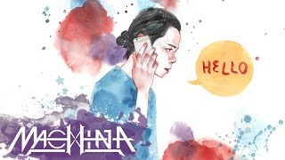 อะไรนะ (Hello) - Machina feat. Polycat【Lyric Video】