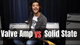 Fender Tone Master Twin Reverb vs Fender Twin Reverb - Valve vs Solid State