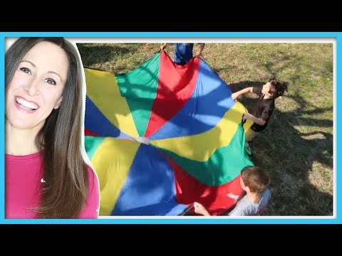 Parachute Song for Toddlers   Parachute Time kids music   Patty Shukla