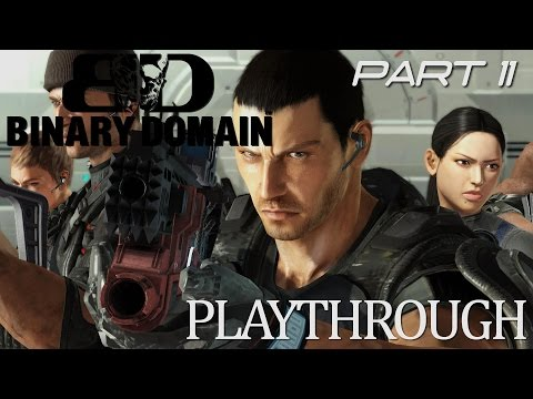 Binary Domain Playthrough - Part 11 - Passing Gas