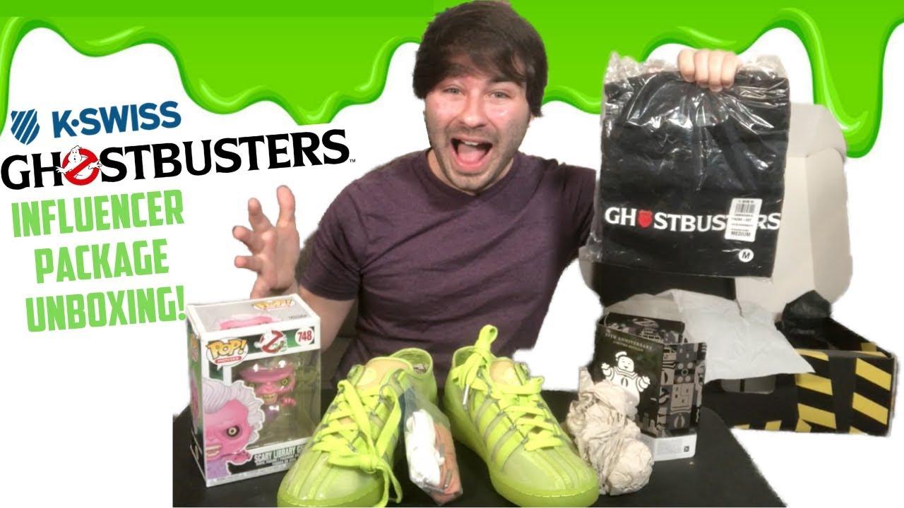 GHOSTBUSTERS K-SWISS HAUL! (Influencer