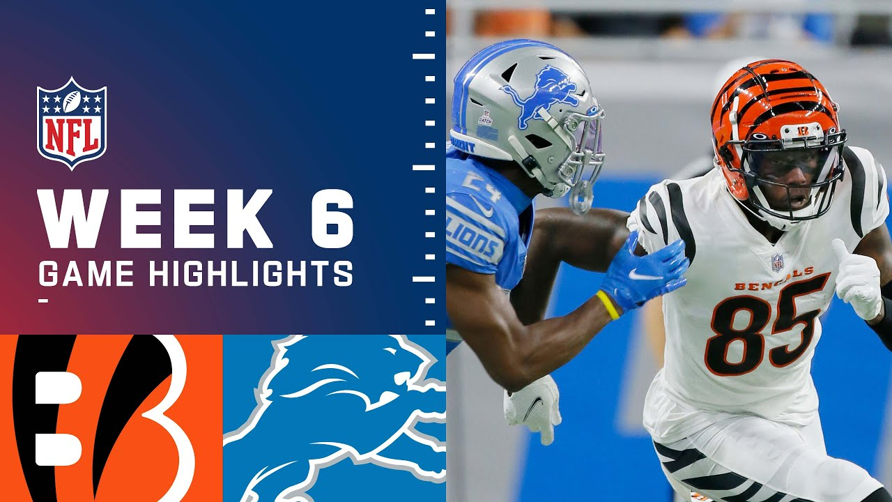Bengals vs. Lions game recap: Everything we know