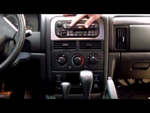 2004 jeep grand cherokee wj single to double din radio. Black Bedroom Furniture Sets. Home Design Ideas