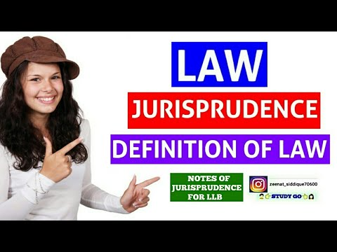 LAW IN JURISPRUDENCE | DEFINITION OF LAW IN JURISPRUDENCE | LAW IS A COMMAND OF SOVEREIGN EXPLAINS