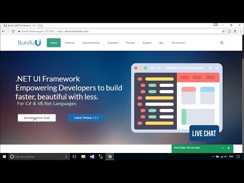 Bunifu Framework - Download and Install | FoxLearn