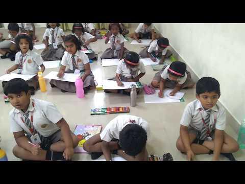 ALL INDIA ART TALENT SENSATION-STUDENT OF CHRIST MATRIC HR SEC SCHOOL - POONAMALLEE  CH TN