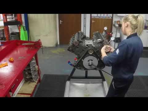 Cosworth DFV Build - Time-Lapse