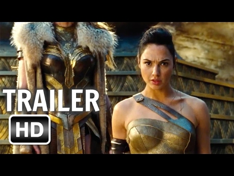 Wonder Woman Official International Trailer 2017 Gal Gadot Movie HD