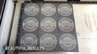Laser Engraving Slate Coasters