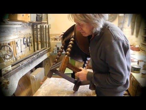 Making a 17th century oak stool with Stephen Edgar