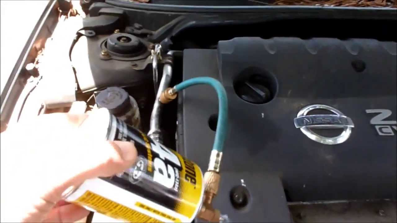 fuse box for audi tt add freon to nissa altima 2 5l ac system youtube  add freon to nissa altima 2 5l ac system youtube