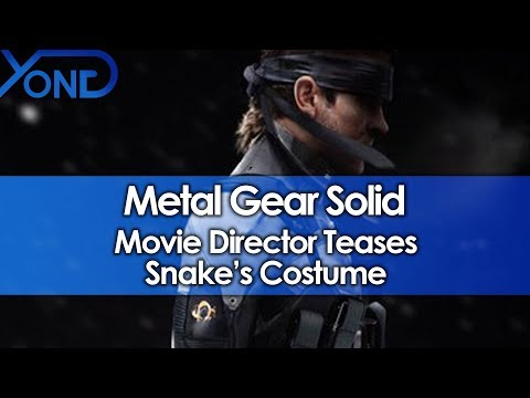 Metal Gear Solid Movie Director Teases Snake's Costume