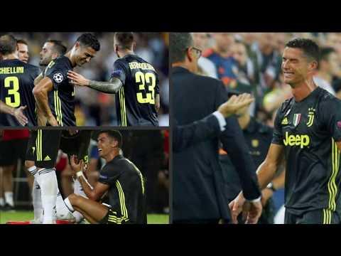 Cristiano Ronaldo Kırmızı Kart Gördü, Gözyaşlarını Tutamadı