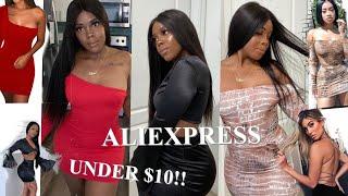 BADDIE ON A BUDGET | ALIEXPRESS HAUL UNDER $10