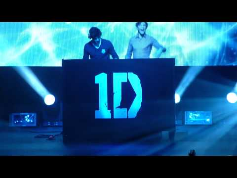One Direction - DJ Malik ft DJ Tommo - Birmingham NIA 04/01/12
