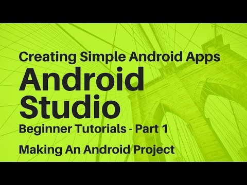 Android Studio For Beginners Part 1 - YouTube