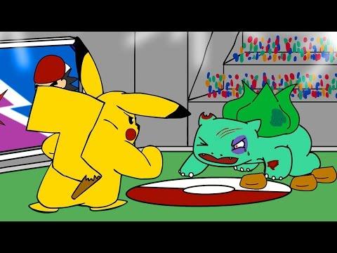Pokemon Illegal Dogfighting  (Pokemon Animation)