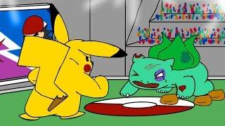 Repeat youtube video Pokemon Illegal Dogfighting  (Pokemon Animation)