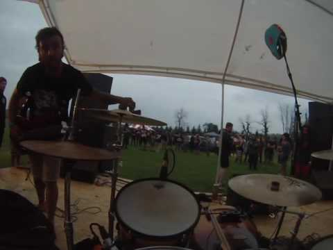 Amnesty Drum Cam Knocked Up Fest 2015 Part 1